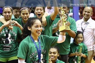 UAAP volleyball: Finals MVP Dawn Macandili relishes 'best decision I made'