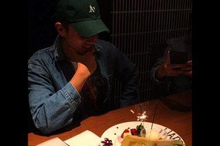 James Reid celebrates birthday ahead of movie's Japan screening