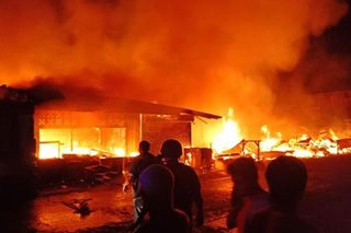 Fire guts market, 5 houses in Lanao town