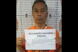 Barangay candidate arrested during miting de avance