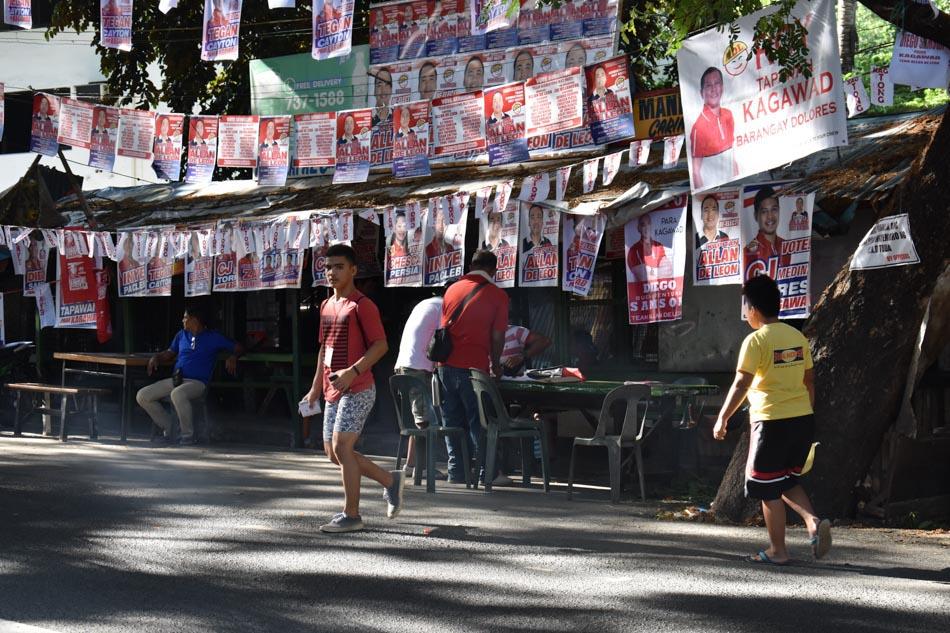 SLIDESHOW: The 2018 barangay, Sangguniang Kabataan elections 1