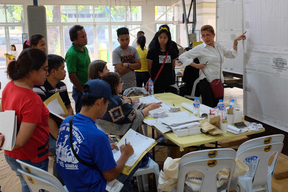SLIDESHOW: The 2018 barangay, Sangguniang Kabataan elections 22