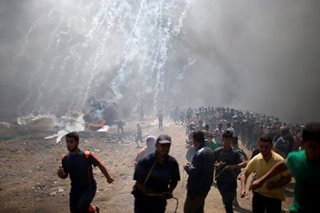 Israeli forces kill dozens as U.S. embassy opens in Jerusalem