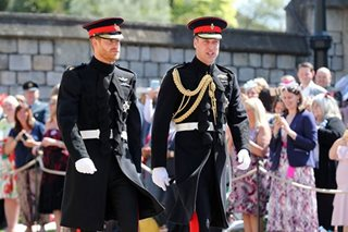 LOOK: Prince Harry wears frock-coat uniform of the Blues and Royals for wedding