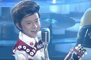 WATCH: Onyok is a cute Elvis Presley on 'Your Face Kids