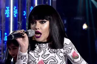 Krystal Brimner as Jessie J wins Week 3 of 'Your Face Kids'