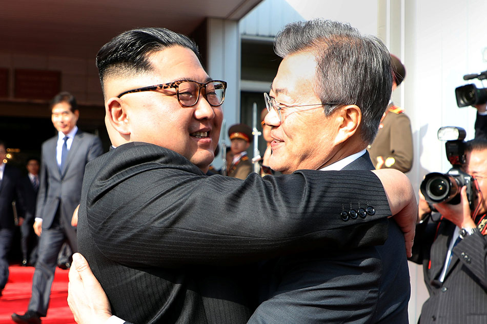 North and South Korean leaders meet again at border