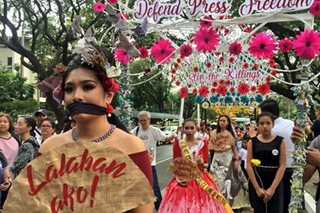'Protesta de Mayo' held against alleged human rights abuses