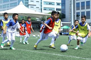 Kids from Marawi, Manila benefit from Real Madrid football clinics