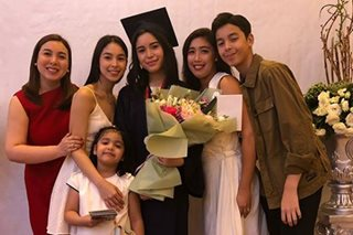 LOOK: Claudia Barretto graduates from high school