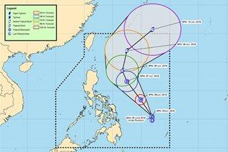 'Domeng' maintains strength, unlikely to make landfall: PAGASA