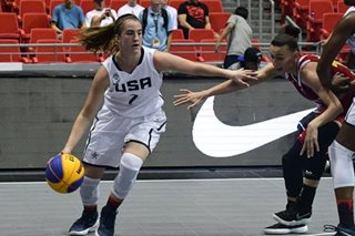 US women's team living up to the hype in FIBA 3x3