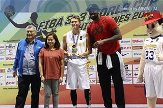 Ukrainian rules FIBA 3x3 dunk contest, as PH's David Carlos takes bronze