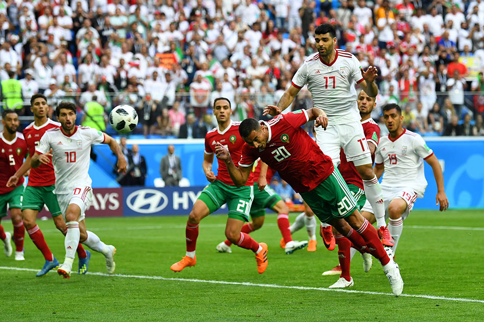 Image result for morocco iran world cup