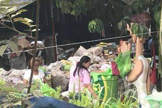Ibinentang grocery mula sa nasunog na mall sa Davao, di na puwedeng kainin