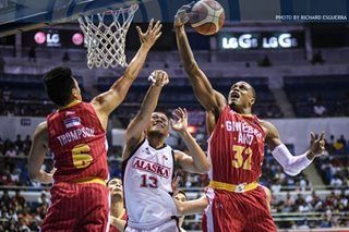 PBA: Ginebra demolishes Alaska, bolsters quarterfinals drive