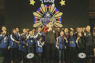 100 Pinoy, sasabak sa 'talent Olympics'