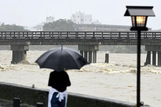 3 dead, 7 missing as heavy rain hits wide areas of Japan