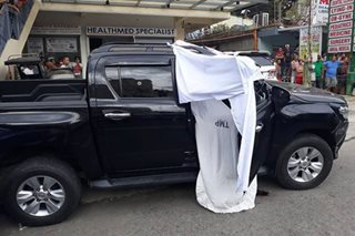 Trece Martires mayor denies ordering vice mayor's murder, tags slain official's wife