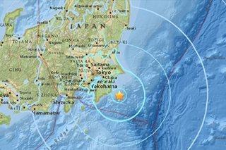 5.9-magnitude quake felt in Tokyo, no tsunami warning