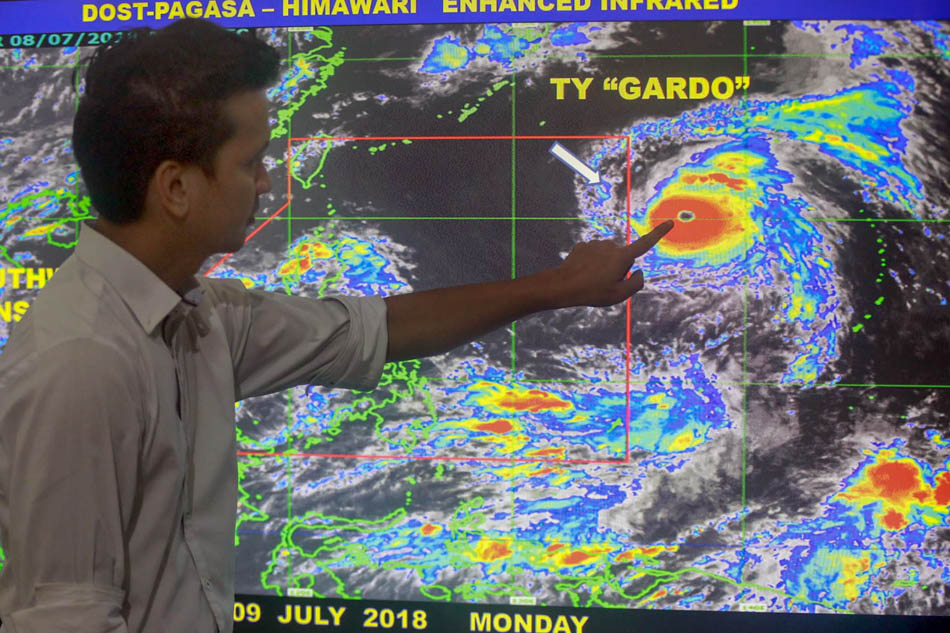Typhoon Gardo enters PAR