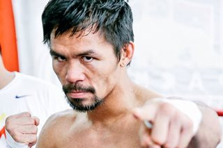 Manny Pacquiao arrives in KL for Lucas Matthysse fight