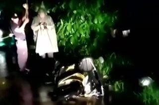 Lalaking tumangay umano ng motorsiklo ng lady guard, patay sa engkuwentro