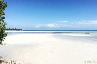 TUKLASIN: Shifting sandbar sa Puerto Princesa