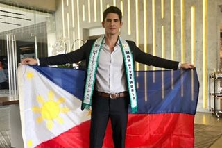 PH bet finishes 1st runner-up in Man of the World 2018