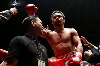 'I'm not gone': Pacquiao kumbinsidong nakabalik na sa dating kalakasan
