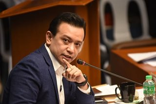 DOJ calls Trillanes amnesty 'scripted' in comment to Trillanes' plea