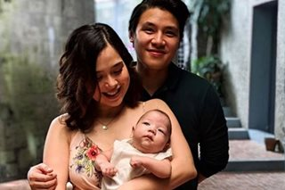 LOOK: Saab Magalona's baby boy baptized