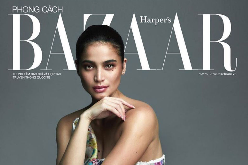 LOOK: Anne Curtis back to glamorous best on cover of Harper's Bazaar Vietnam