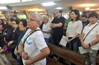 Opposition members join Mass ahead of Duterte's SONA