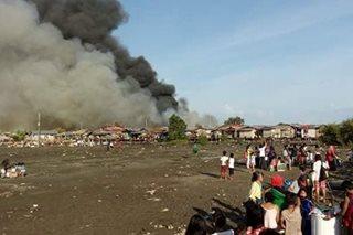 Sunog, sumiklab sa pansamantalang tirahan ng mga apektado ng Zamboanga siege