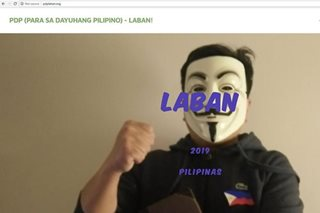 LOOK: PDP-Laban website hacked