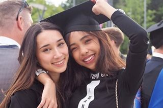 Maymay congratulates Edward's sister with graduation tribute