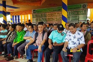 LOOK: Moro Islamic Liberation Front consultation on Bangsamoro Organic Law