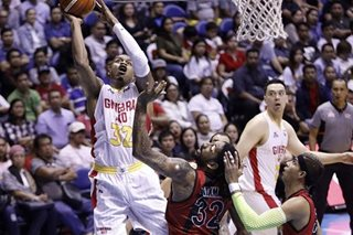 PBA: Finals tied at 2-2, as on-fire Ginebra dismantles San Miguel