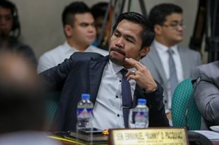 Pacquiao seeks to rush Senate approval of death penalty by year's end