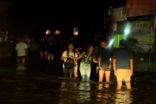 'San Juan, Marikina River, di kinaya ang ulang dala ng habagat'