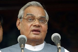 India's 3-time prime minister Vajpayee dead at 93