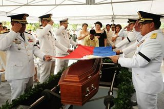 Marcos hero's burial unified PH, Peralta tells JBC