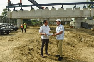 NLEX harbor link segment inspection