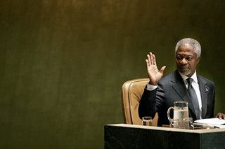 Kofi Annan struggled to escape the curse of history