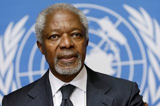 Nobel Prize winner, former UN chief Kofi Annan dies at 80