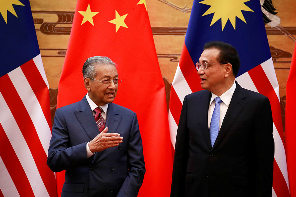 Malaysia Cancels Megaprojects Under China's OBOR to Save Country From Debt