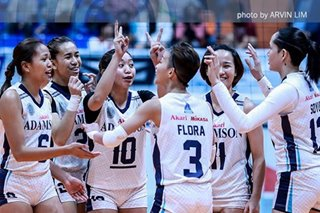 PVL: Adamson completes elims sweep