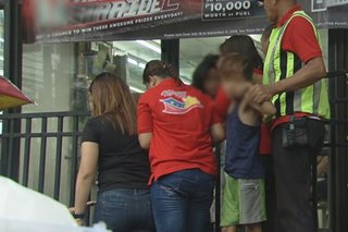 Rescue ops sa 20 batang lansangan sa Maynila, nabalot ng tensiyon