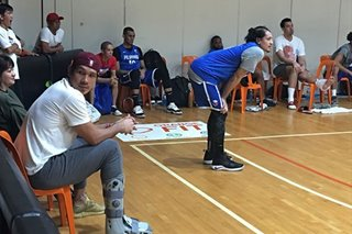 FIBA World Cup: June Mar makes surprise visit at national team practice